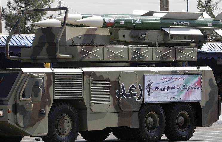 """Иранская система ПВО """"Раад"""""""