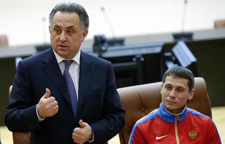 Виталий Мутко и Юрий Борзаковский