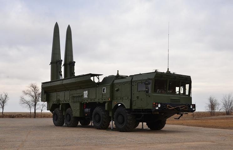 """Ракетный комплекс """"Искандер-М"""""""