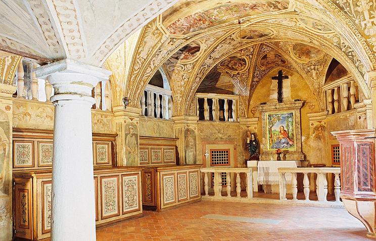 Часовня Святой Барбары в замке Грабштейн
