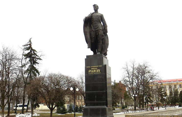 Памятник Николаю Рудневу  в Харькове
