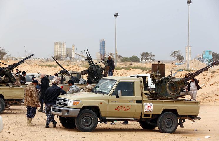 """Операция против боевиков """"Исламского государства"""" в Ливии"""