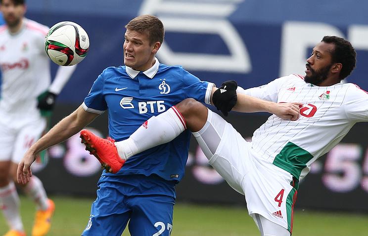 Игорь Денисов (слева)