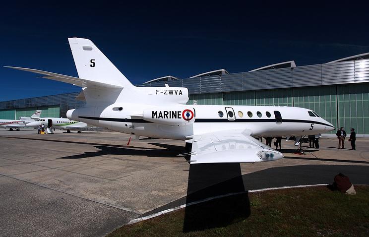 Самолет Dassault Falcon 50