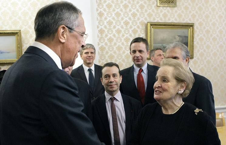 Встреча Сергея Лаврова с Мадлен Олбрайт, 2010 год