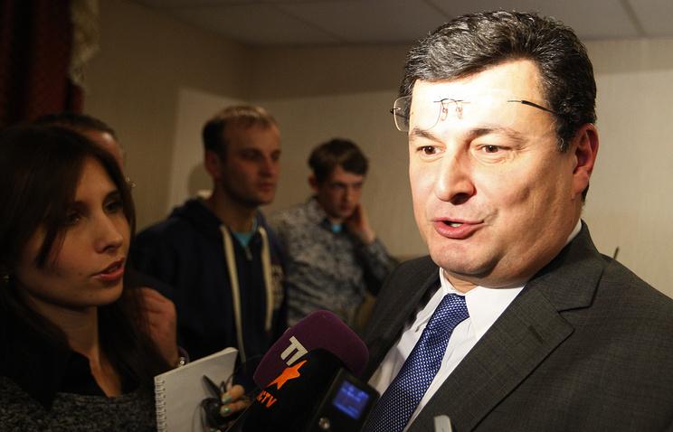 Министр здравоохранения Украины Александр Квиташвили