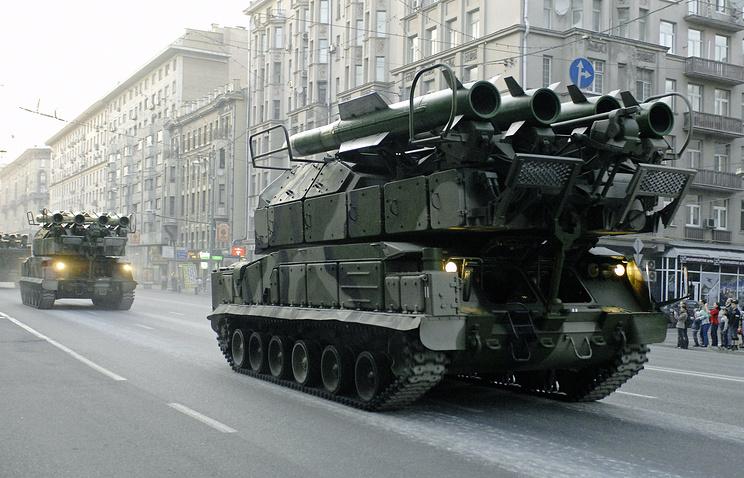 """Зенитно-ракетный комплекс """"Бук"""""""