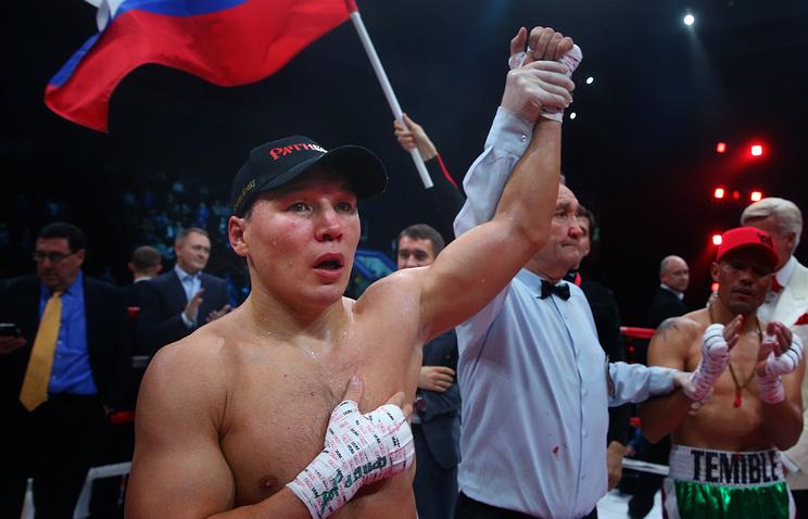 Российский боксер Руслан Проводников