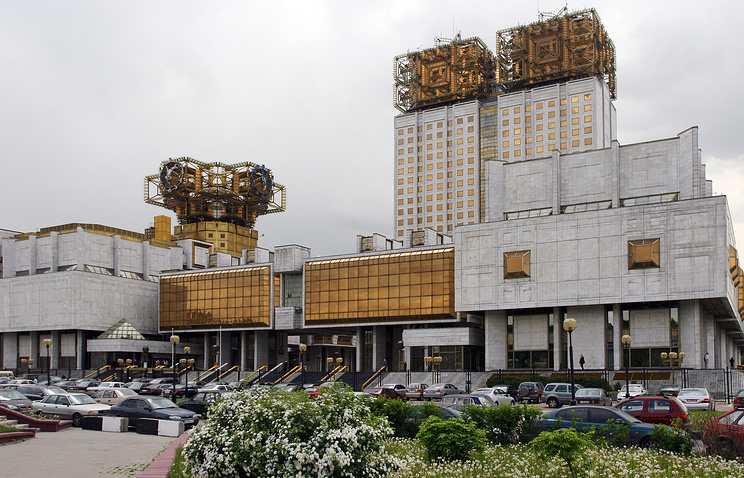 Здание Российской академии наук в Москве