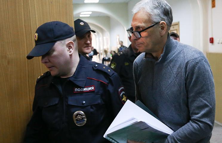 Бывший губернатор Сахалина Александр Хорошавин