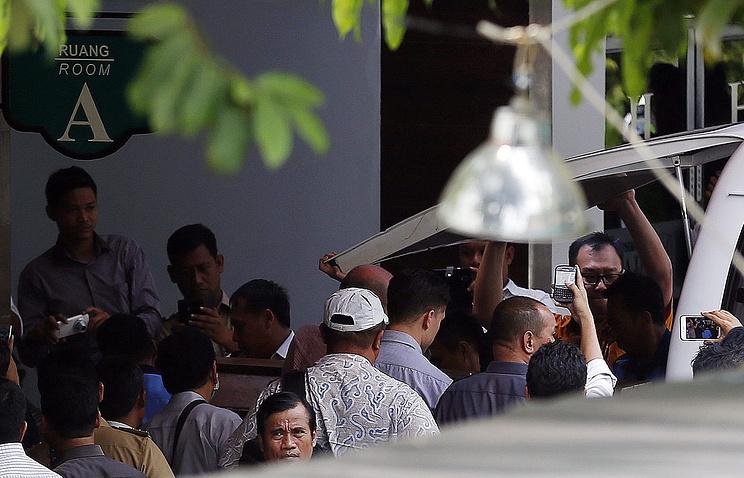 Джакарта, 29 апреля 2015 года