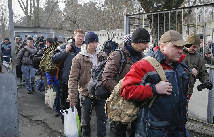 Военный призыв в армию Украины