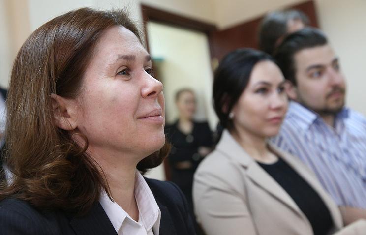 """Бывший финансовый директор ООО """"Мира"""" Ирина Егорова (слева)"""
