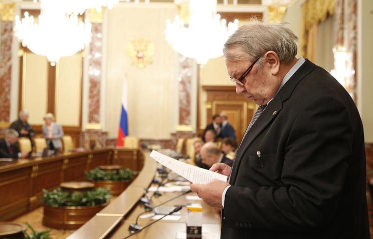 Президент Российской академии наук (РАН) Владимир Фортов