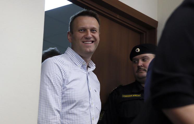 Алексей Навальный в Люблинском суде