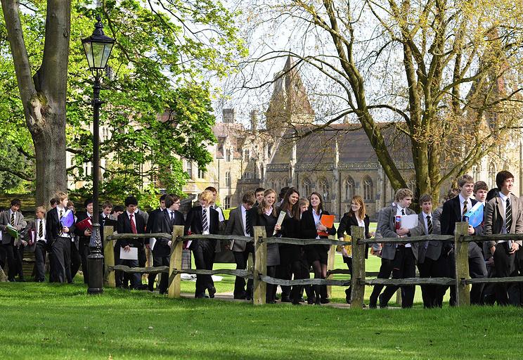 Студенты британской Charterhouse