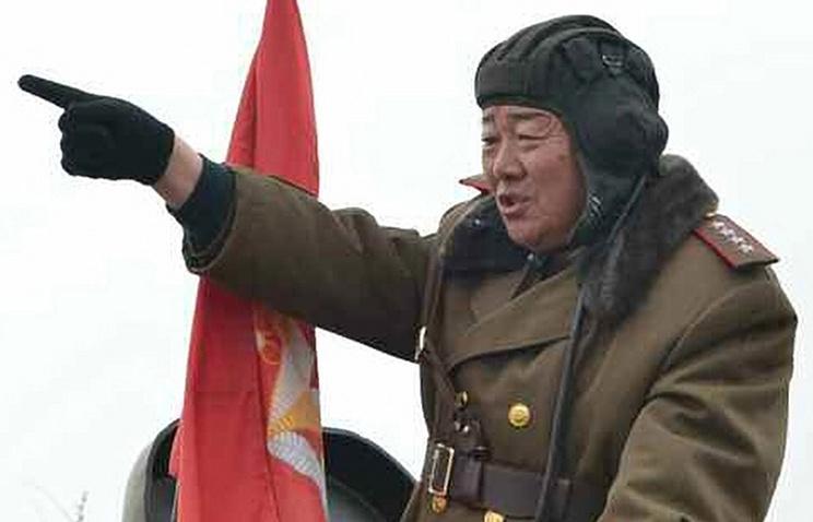 Министр обороны КНДР Хен Ен Чхоль