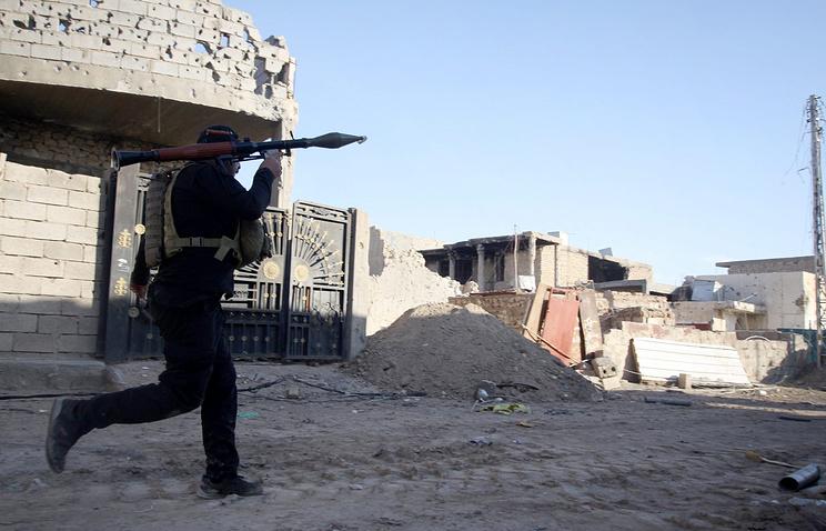Вооруженный сил Ирака в городе Рамади