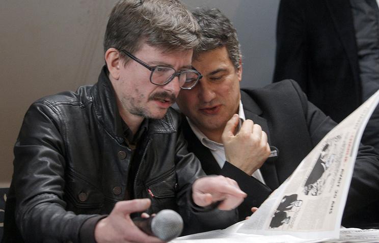 Реналь Люзье (слева)
