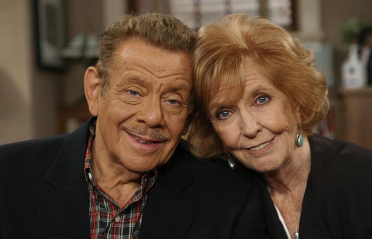 Энн Мира с мужем Джерри Стиллером, 2003 год