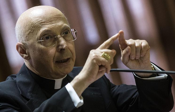 Кардинал Анджело Баньяско