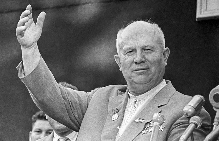 Первый секретарь ЦК КПСС Никита Хрущев, 1962 год