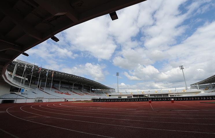 Реконструкция центрального стадиона Екатеринбурга