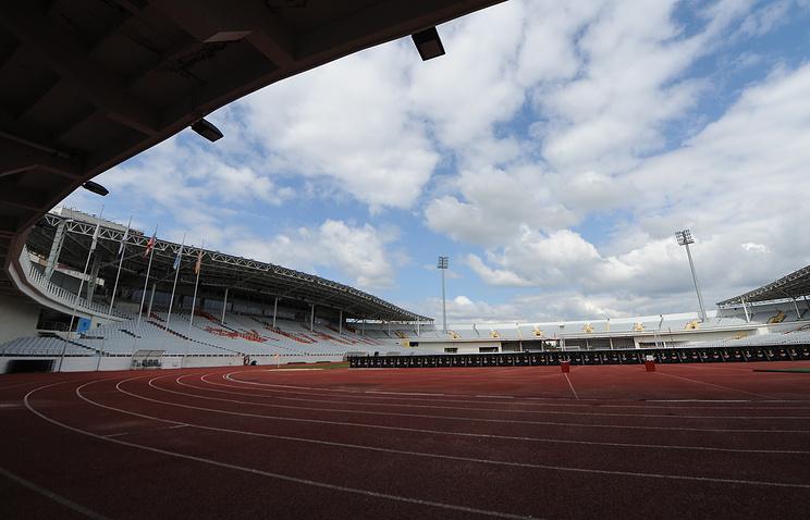 Центральный стадион в Екатеринбурге, который будет реконструирован к чемпионату мира по футболу 2018 года