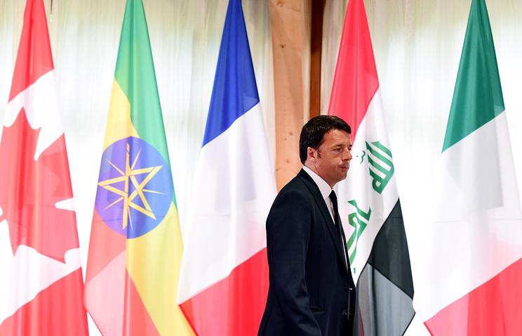 Премьер-министр Италии Маттео Ренци