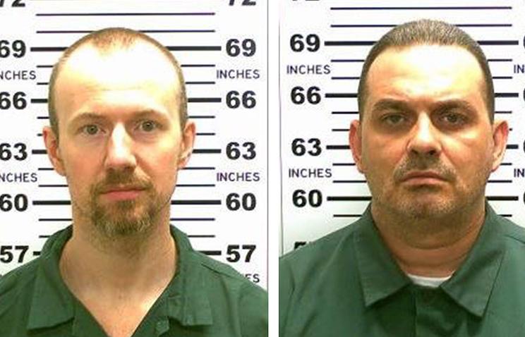 Дэвид Суэт и Ричард Мэтт, сбежавшие из тюрьмы строгого режима