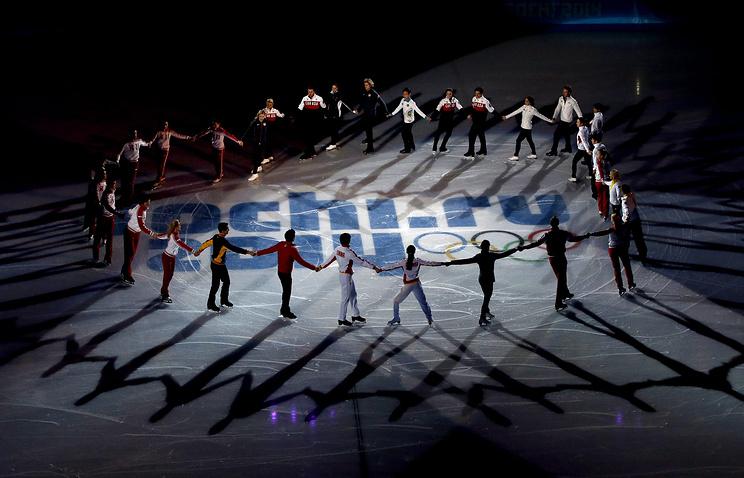 Показательные выступления по фигурному катанию на Олимпийских играх-2014 в Сочи