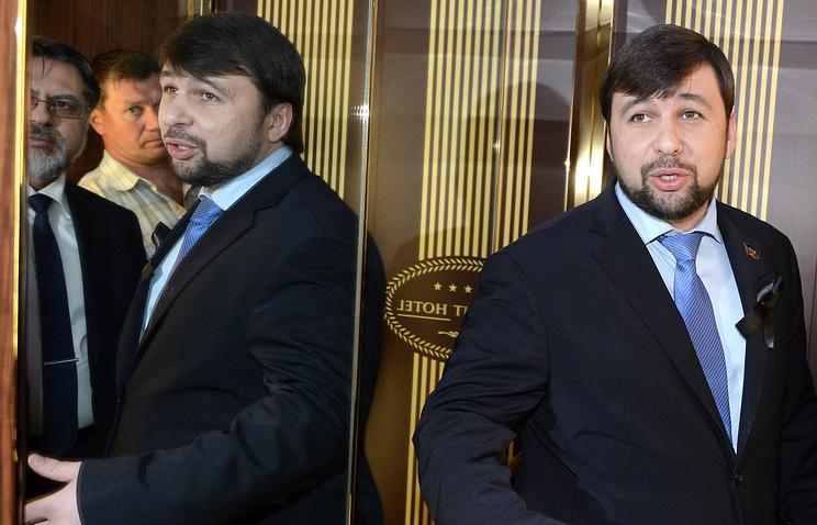 Представитель ДНР Денис Пушилин