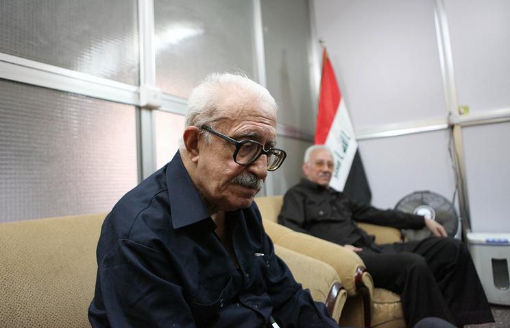 Бывший глава МИД Ирака Тарик Азиз