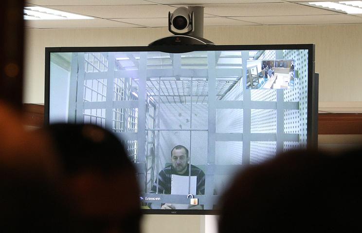 Хамзат Бахаев во время рассмотрения жалобы на арест в Мосгорсуде