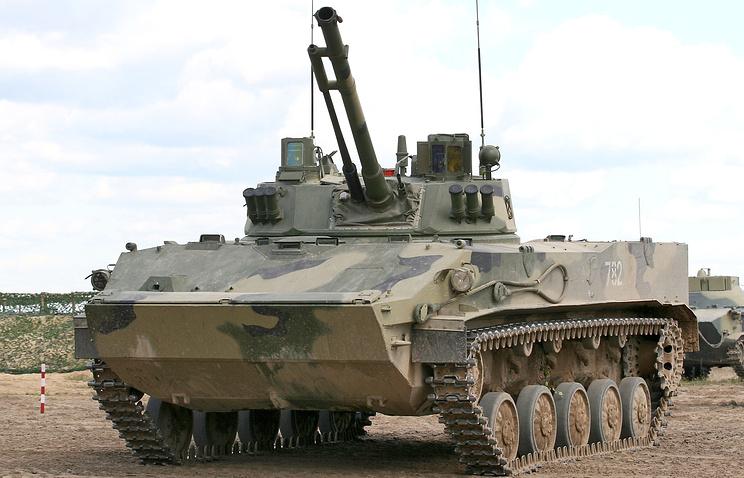 "БМД-4 ""Бахча-У"" с противотанковой пушкой ""Спрут-СД"""