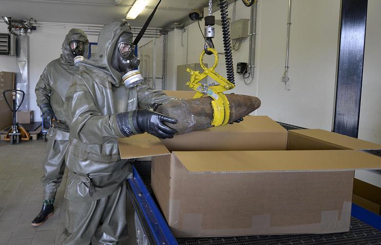 Эксперты по уничтожению химического оружия