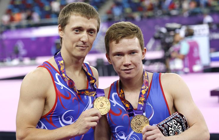 Дмитрий Ушаков и Михаил Мельник