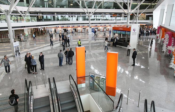Международный аэропорт Варшавы имени Фредерика Шопена