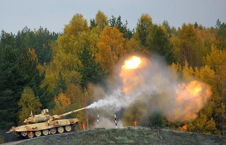 На IX Международной выставке вооружения Russia Arms Eхpo. 2013 год