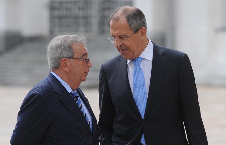 Евгений Примаков и Сергей Лавров, 2009 год
