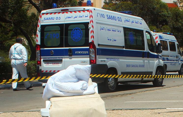 На месте теракта в отеле в Сусе