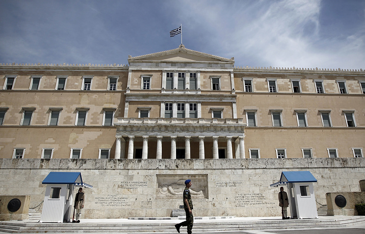 Здание парламента Греции