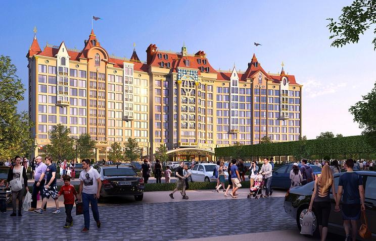 Проект первого в Москве специализированного детского развлекательного парка