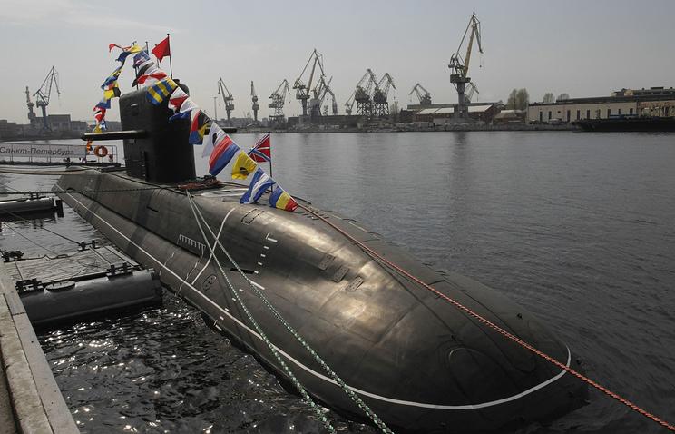 Подводная лодка проекта 677