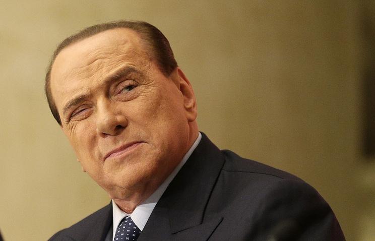 """Бывший премьер-министр Италии, лидер партии """"Вперед, Италия"""" Сильвио Берлускони"""