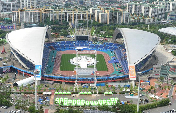 Главный стадион в Кванджу