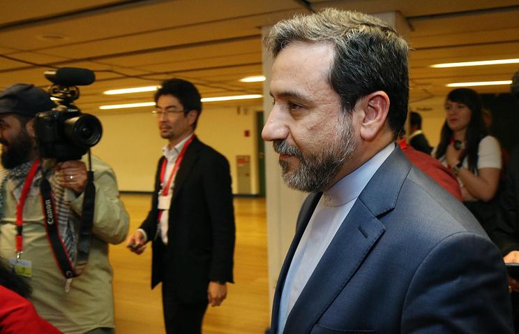 Pаместитель министра иностранных дел Ирана Аббас Аракчи