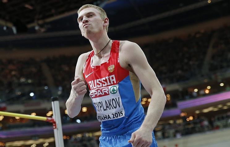 Российский легкоатлет Даниил Цыплаков