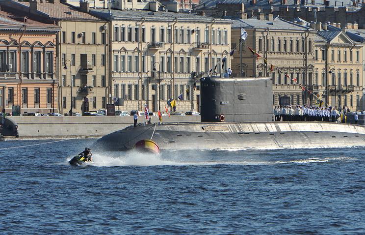"""Подводная лодка """"Выборг"""""""