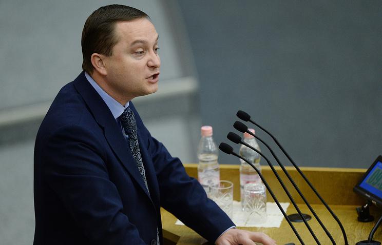 Депутат Роман Худяков